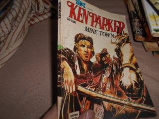 Revista-ken Parker-mine Town - Excelente Estado Raridade