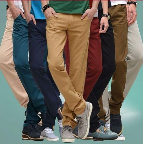 Pantalones Gabardina Chupin Colores Hombre Talle 36 A 46 Mercado Libre