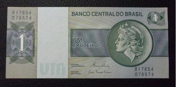 Brasil Billete 1 Cruzeiro Pick 191 Año 1980 Unc Sin Circular
