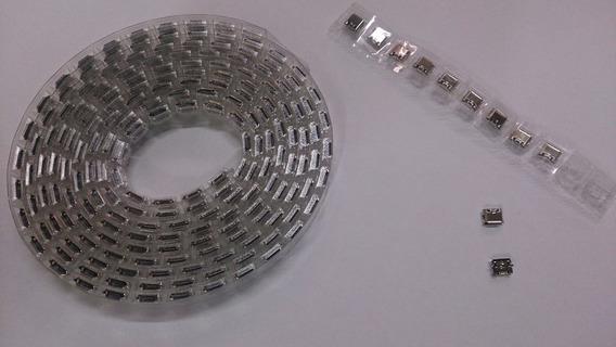 Micro Conector De Carga Energia Controle Ps4 Kit 5 Pçs Novo