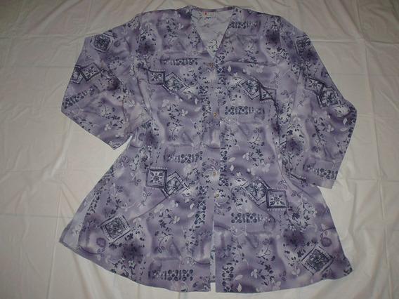 Camisa Talle Especial Seda