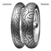 Pneu Pirelli Sport Demon Cb 500 + Largo 150 70 + 110 80 17