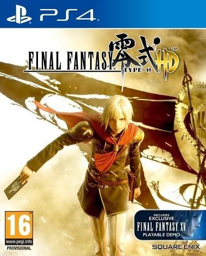 Final Fantasy Type-0 Hd Ps4 - Aluguel 15 Dias