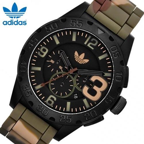 Idealmente Oclusión número  Reloj adidas Adh 2913 Camuflaje Verde Militar   Mercado Libre