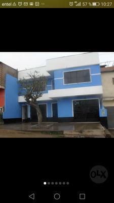 Casa Con Negocio Locales Comerciales, Departamentos T. Lurin
