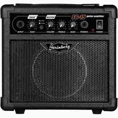 Sg15 Cubo Strinberg P/ Guitarra 12w Rms C/ Overdrive Sg-15