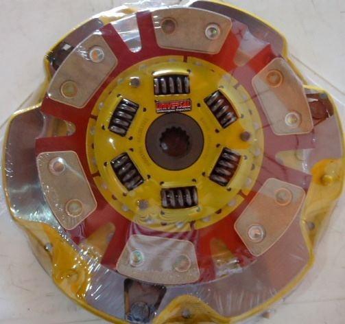 Kit Embreagem Opala Cerâmica 4cc/6cc 73 A 89 Com Rolamento