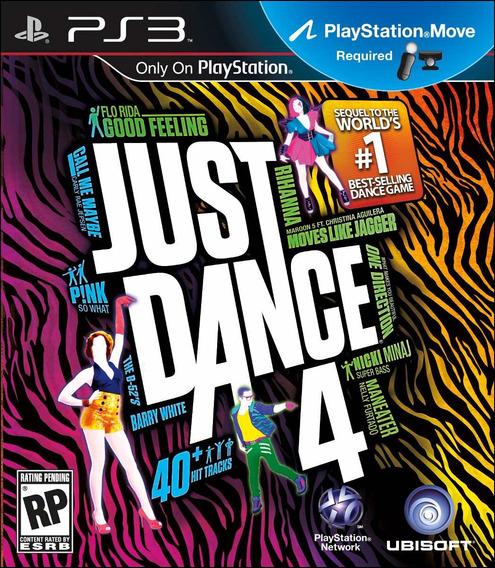 Just Dance 4 Ps3 - Mídia Física | Com Garantia Playgorila