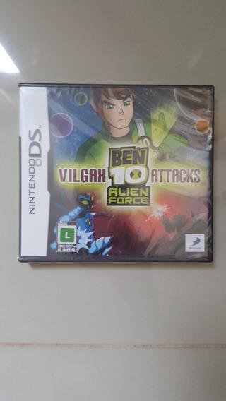 Jogo Nintendo Ds - Ben 10 Alien Force - Original Lacrado