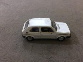 Carro Miniatura Metal Volks Golf Gti + Ficha Auto Collection