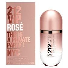 Perfume Carolina Herrera 212 Vip Rose 80ml Para Mujer