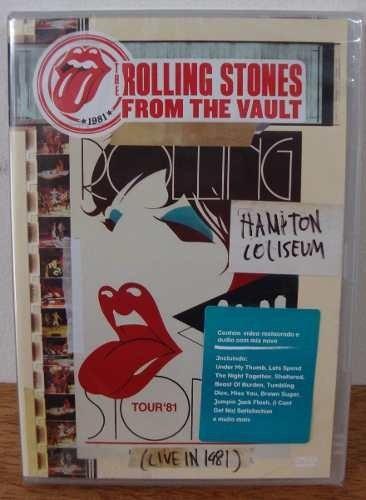 Dvd Rolling Stones - Hamiton Coliseum 1981 (lacrado)