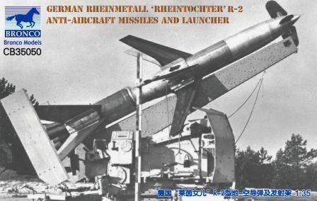 German R2 Anti-aircraft * Rheintochter * Bronco 1/35   Mercado Livre