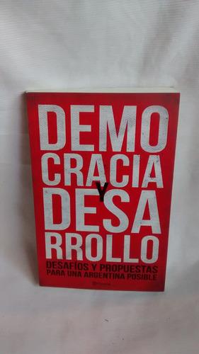 Democracia Y Desarrollo Martin Etchevers Marcos Novaro