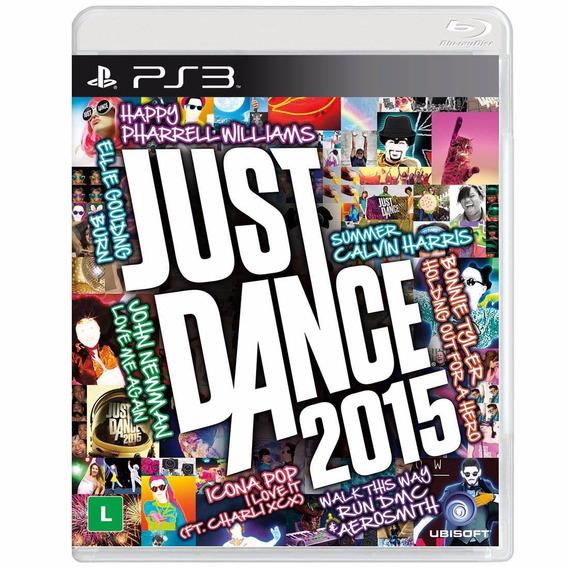 Jogo Just Dance 2015 Ps3 Playstation 3 Lacrado - Frete 10,00