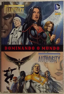 Hq Panini Dc: Planetary / Authority - Dominando O Mundo