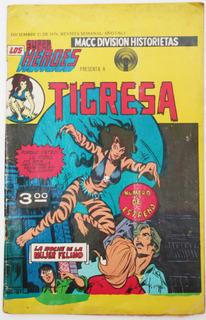 Super Heroes No. 1 Tigresa 1976 Ed Macc Division