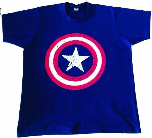 Camiseta Capitão América - Personagens