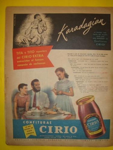 Karadagian Revista Billeken Año 1951