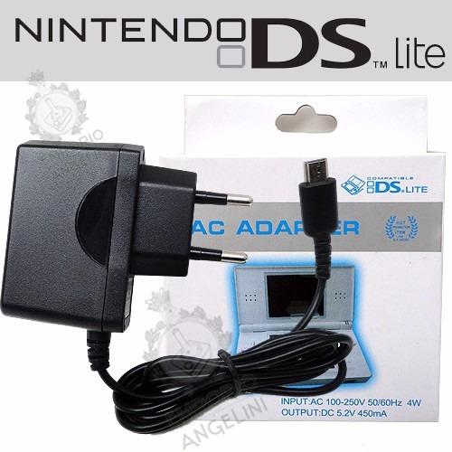 Fonte Carregador Bivolt 110-220v P/ Nintendo Ds Lite Nfe