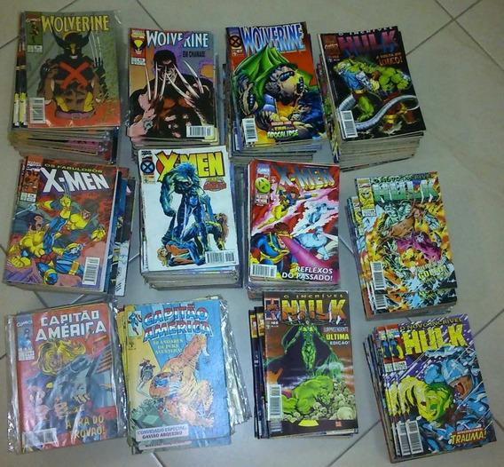 Gibis Wolverine, X-men, Hulk E Outros - 6 Revistas R$ 35,00