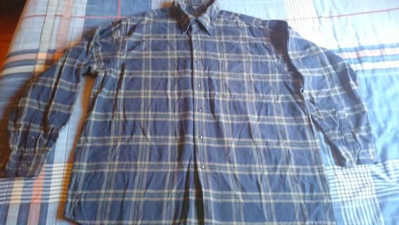 Náutica Camisa De Algodón Para Caballero Xl