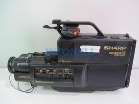 Câmera Filmadora Sharp Vl-l80 No Estado Ler Anúncio