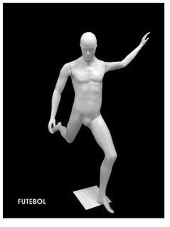 Manequim De Plástico Pose Futebol Top Decathron, Centauro, Kalunga