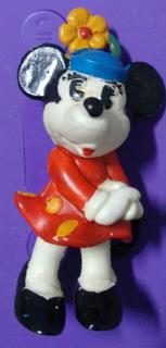 Muñeco Personaje Minnie Orig Goma Disney Rdf1