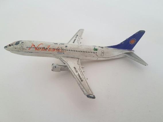 Avião Varing Boing 737-500 - Brinquedo Antigo