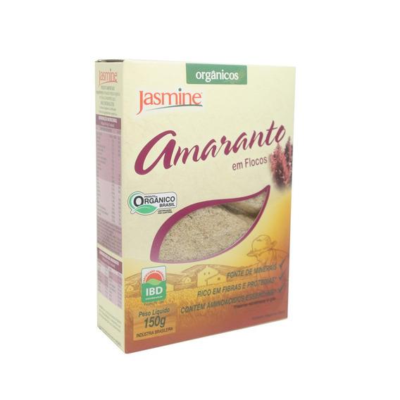 Amaranto Em Flocos Organico 150g - Jasmine