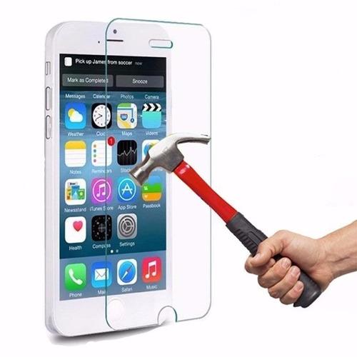 Mica De Vidrio Templado iPhone, Motorola, Samsung 5 Unidades