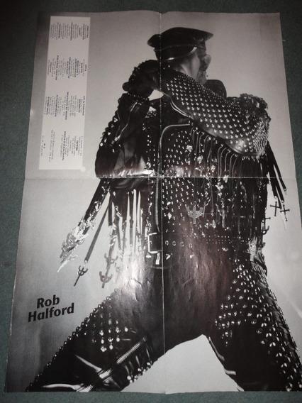 Lote De Posters De Judas Priest