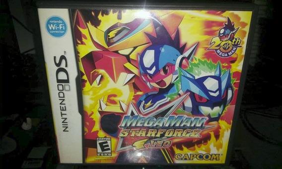 Nintendo Ds Mega Man Star Force Leo Raríssimo