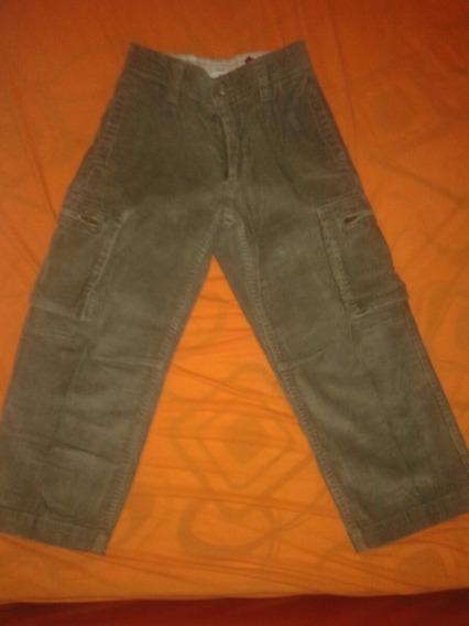 Calça Jeans Veludo Canelado Marca Gap Tam 5