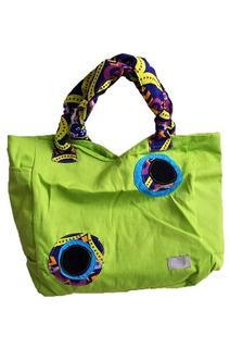 Bolso Con Cambiador (verde Manzana)