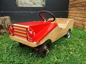 Pedal Car Kandango Antigo Wood
