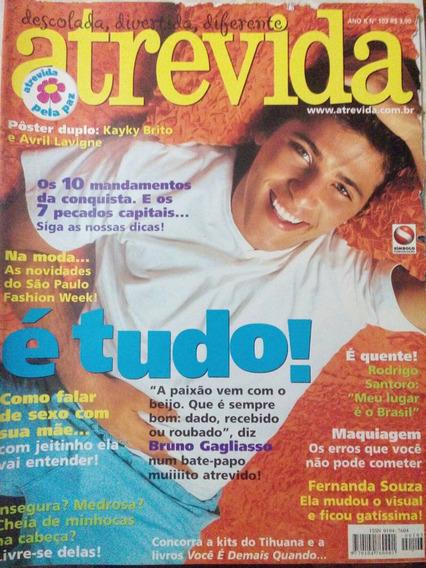 Revista Atrevida N. 103 - Bruno Gagliasso, Fernanda Souza