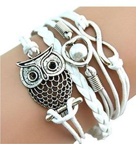 Bracelete Amor Infinito Branco - Glam0080