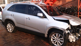 Sucata Pecas Kia Sorento 3.5 V6 2013 Motor Cambio Porta