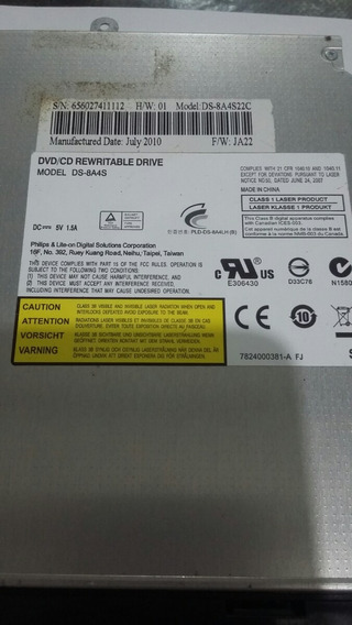 Dvd/cd Rewritable Drive Ds-8a4s