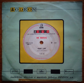 The Beatles Compacto Vinil Nac Strawberry Fields F 1967 Mono