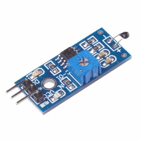 2 Módulos Chave Térmica Sensor De Temperatura Termistor