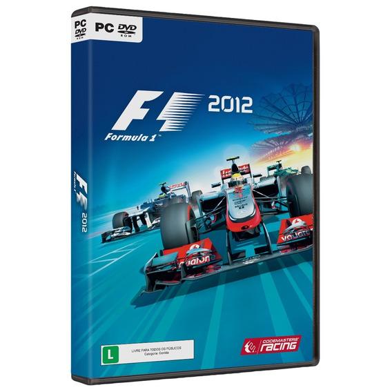 Jogo Fórmula 1 2012 Pc Original Lacrado
