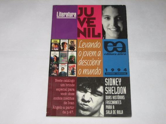 Literatura Juvenil - Catálogo Ed. Ática - 1994 - 2º Semestre