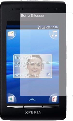Pelicula De Plastico Para Tela Sony Xperia X8 E15i E15 E15a