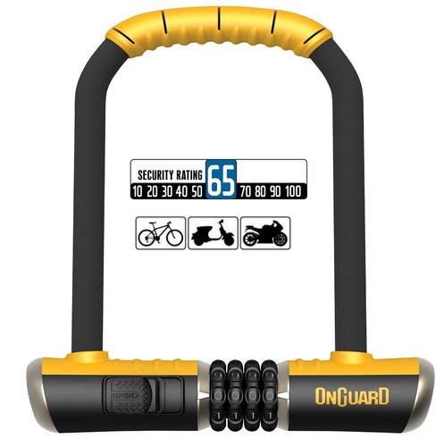 Imagen 1 de 7 de Candado Bicicleta Onguard Bulldog 8010 C - Tipo U Lock