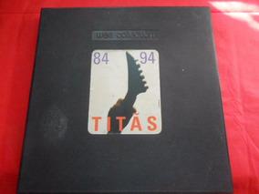 Caixa Titãs 84 94 Somente A Caixa Sem Disco Único No Ml