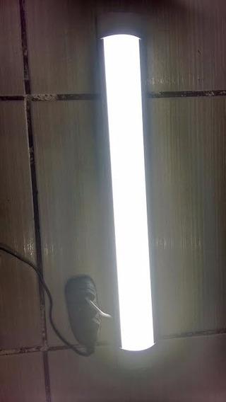 Luminária De Led Sobrepor 60cm 36w Bivolt Completa L&d