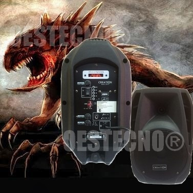 Parlante Bluetooth La Bestia Del Sonido  Woofer 8 +microfono